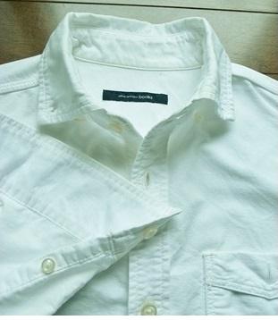 洗濯後に真っ白になったシャツ