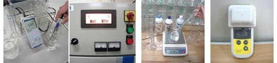 除菌力の強い電解水を研究開発中の写真群1