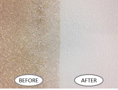 壁紙の掃除before-after