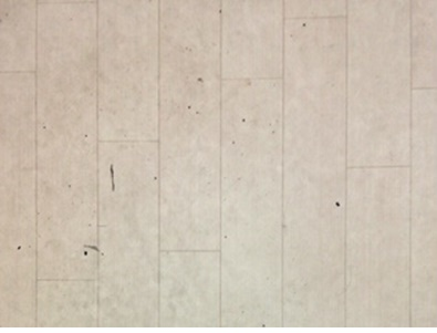 台所の床がとても汚れている様子